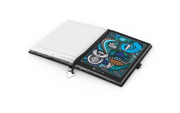 """Andy Cartwright """"I Am South African"""" Notebook"""
