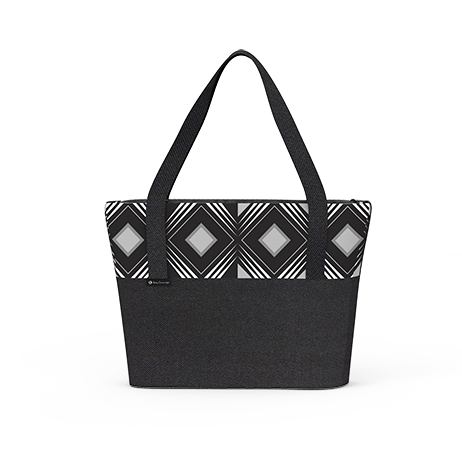 Tote Bag - Geo Black