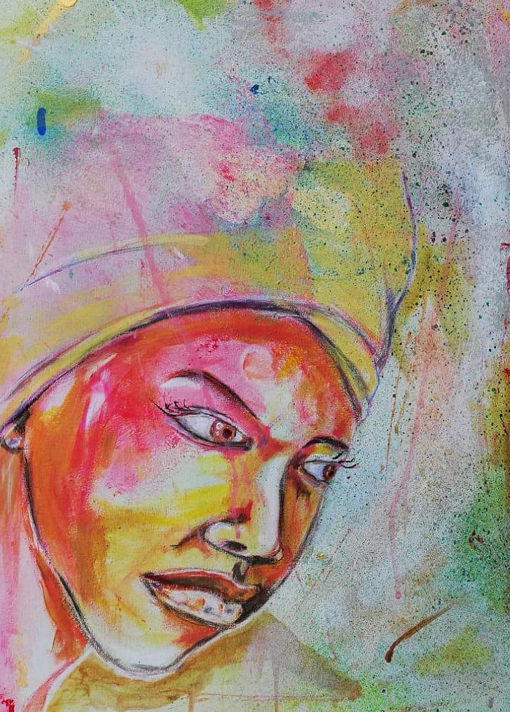 WOW - Acrylic o Canvas 43x60 - R475 - AS
