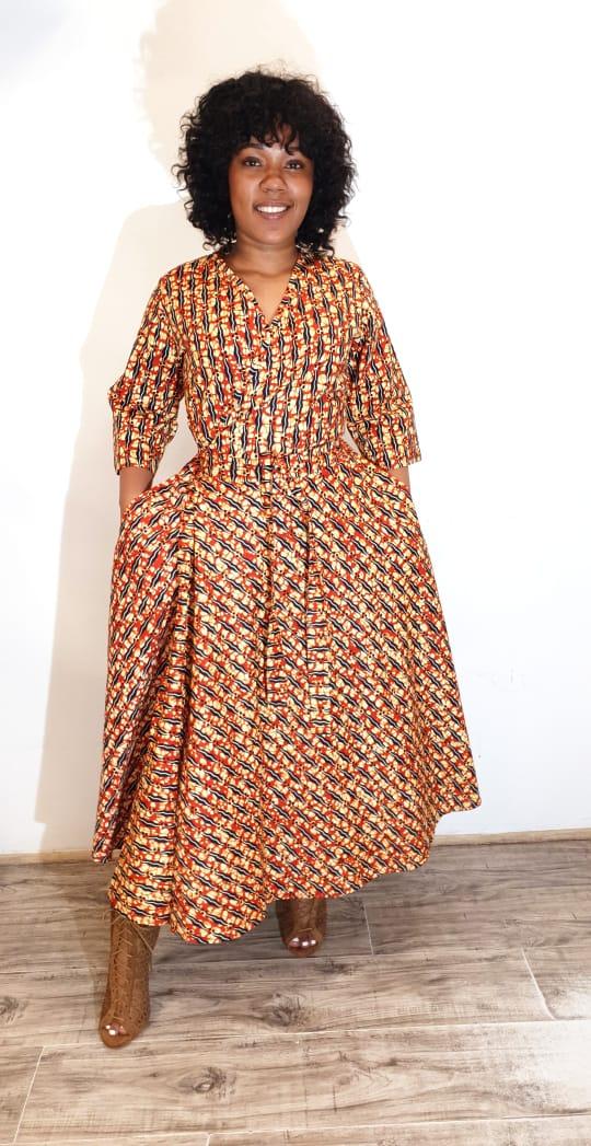 Tumi Wrap Dress